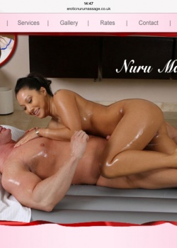 The word Nuru means slippery in Japanese and a Nuru massage